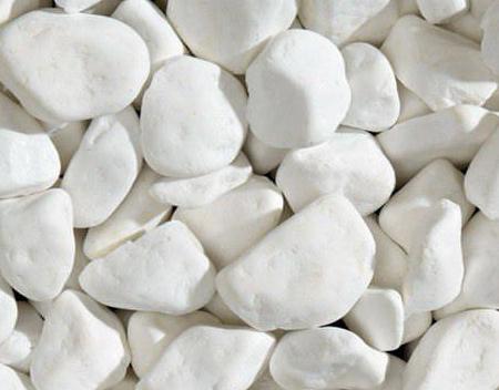 PEBBLES - WHITE THASOS - Dekorativni kamen