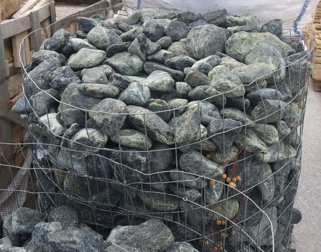 pebbles green - dekorativni kamen